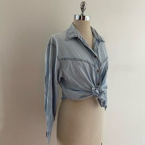 Tops - Vintage Chambray Button Down